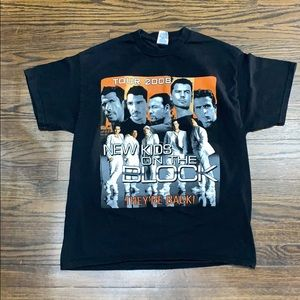2008 New Kids On The Block They're Back Tour Tee
